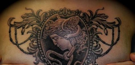 chest piece tattoos for females 40 marvelous medusa tattoos for chest