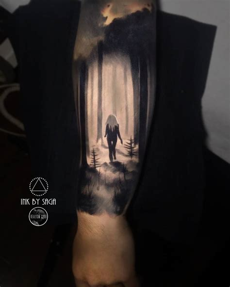 forest tattoo designs in the forest best design ideas