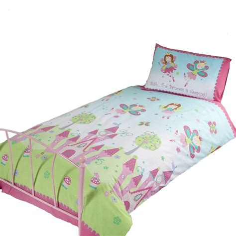 Princess Bed Cover Set Princess Sleeping Single Duvet Cover Set New Bedding Ebay