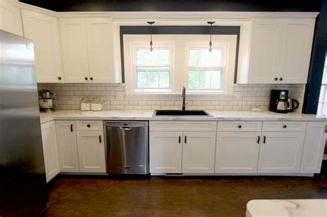 white formica kitchen cabinets white kitchen with marble look laminate countertop akron
