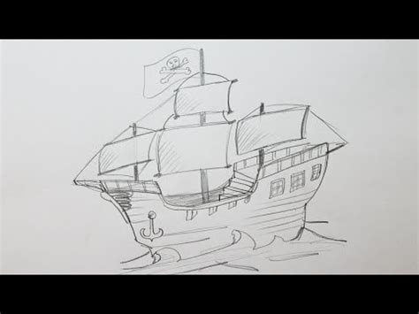 how to draw a cargo boat how to draw a cargo ship doovi
