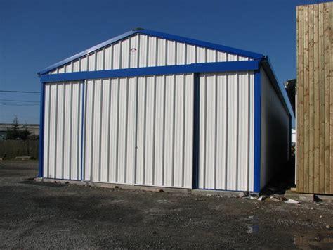 porte de hangar occasion entrepot metallique de stockage ou logistique galco