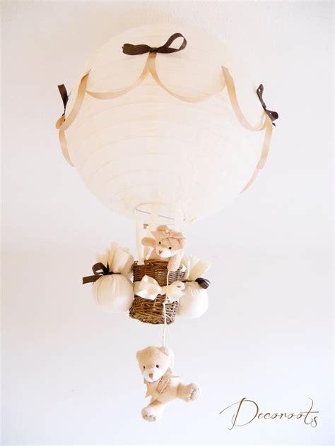 lustre chocolat le montgolfi 232 re enfant b 233 b 233 beige chocolat cr 233 ation