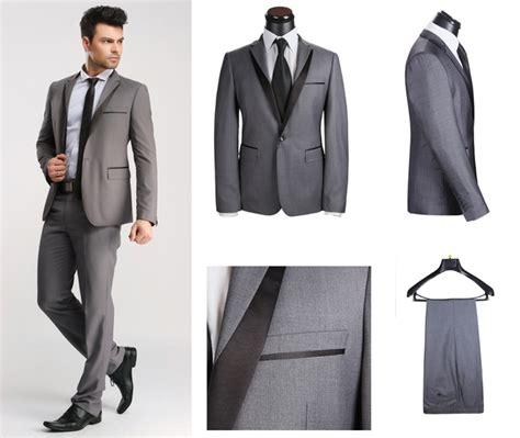 Blazer Pria Jas Pria Grey Stylish bahan jas pengantin pria