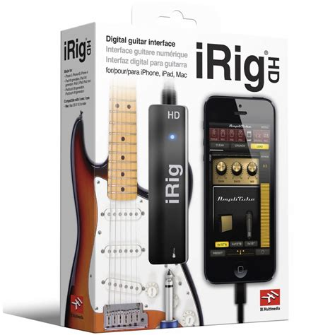 Irig By Shop ik multimedia irig hd interface for iphone ipod touch