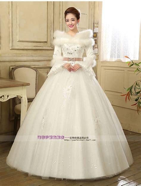 Promo Gaun Pengantin Wanita 4 jual wedding dress gaun pengantin lengan panjang kerah