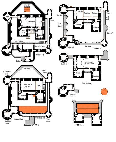 mini mansion floor plans modern mini castle house plans our castle pinterest