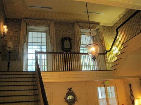 second floor stairwell in manor house picture of