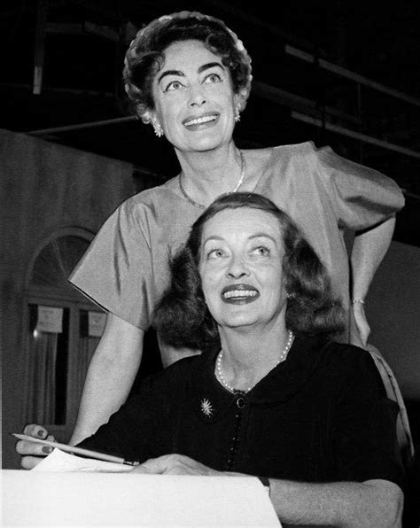 bette davis joan crawford joan crawford bette davis old hollywood pinterest
