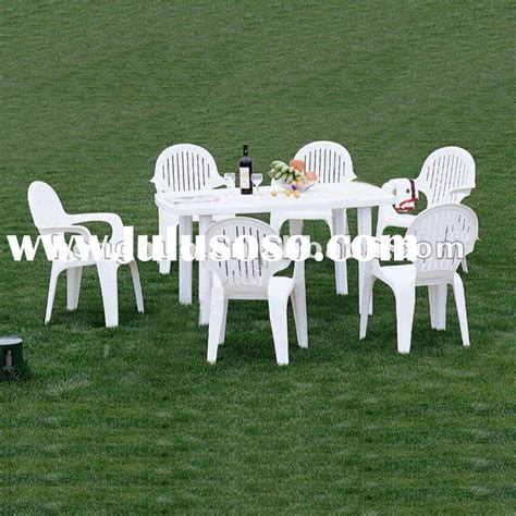 White Plastic Patio Set Icamblog White Patio Table And Chairs