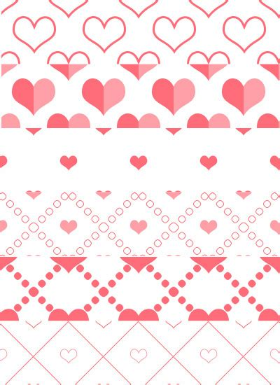 photoshop template heart photoshop heart patterns on behance