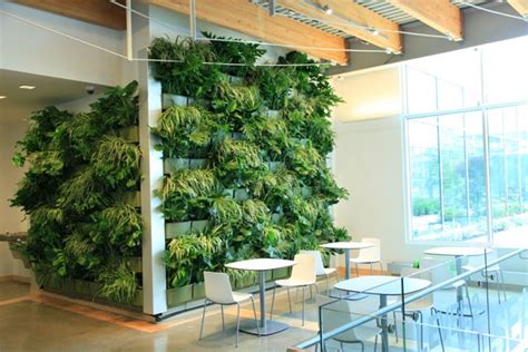 Living Wall Indoor Downtown Market Expands Green Space With Indoor Living