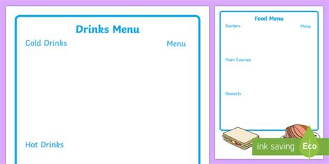 caf 233 menu writing frame caf 233 menu writing frame menu