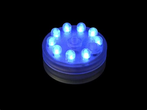 led rgb light led 9 light rgb submersible puck colored grand rental