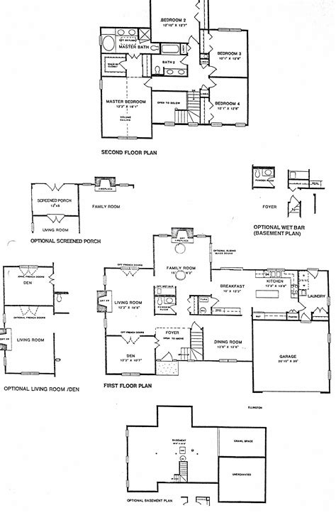 kimball hill homes floor plan
