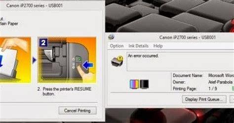 Sensor Printer Canon Ip 2770 mengatasi printer canon ip 2770 paper jam