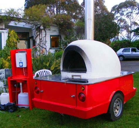 Oven Mobil mobile pizza oven
