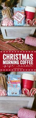 christmas morning coffee gift basket a night owl blog