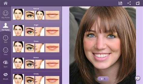 makeover photo app perfect365 one tap makeover android apps on google play