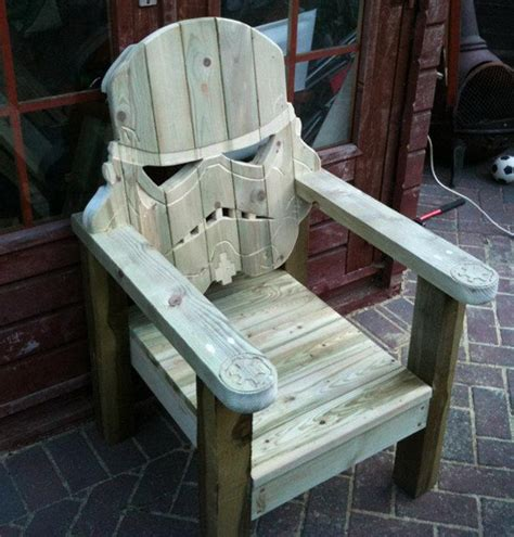 Wood Lawn Chair by Stormtrooper Wood Lawn Chair2014 Interior Design
