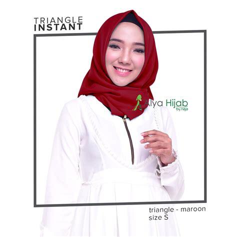 jilbab instant segitiga instan yang bisa