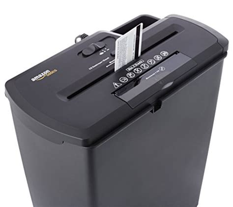 Amazonbasics Shredder by Amazonbasics 8 Sheet Cut Paper Cd And Credit Card Shredder Buy In Uae Office