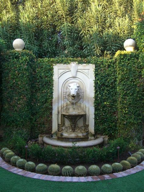 backyard wall fountains best 25 outdoor wall fountains ideas on pinterest water