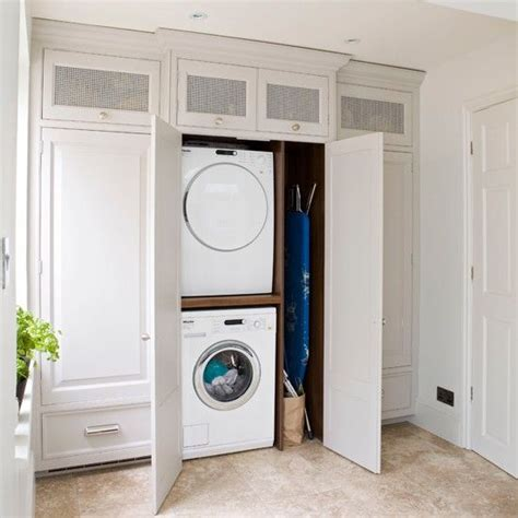 kitchen laundry ideas white laundry room beautiful concealed laundry and