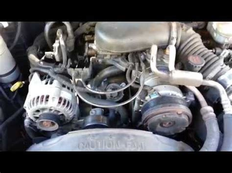 1999 gmc jimmy belt replacement how to install replace serpentine belt chevy gmc s10 how to install replace serpentine belt chevy gmc s10 blazer jimmy pickup 4 3l 98 00 1aauto com