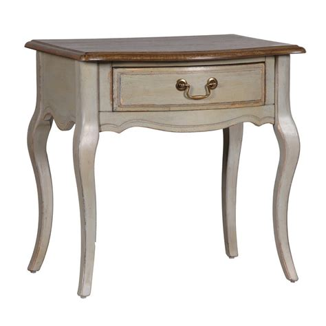 vintage bedside table vintage look french bedside table by out there interiors