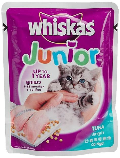 Cat Pouch Kitten Tuna Food whiskas junior tuna food for kitten end 3 18 2018 12 15 am
