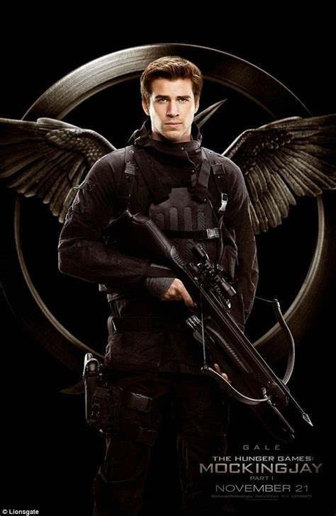 Liam Hemsworth and Natalie Dormer in new posters for ... Liam Hemsworth The Hunger Games Character