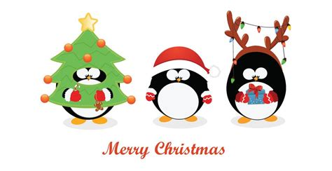 christmas themes for emails christmas penguin decorations e mail amazon co uk gift