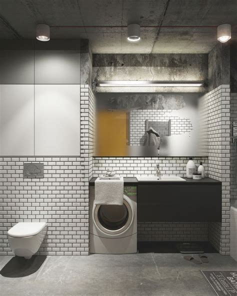 bathroom white brick tiles 33 bathroom designs with brick wall tiles ultimate home