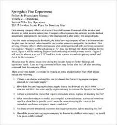 incident action plan template 7 free sle exle