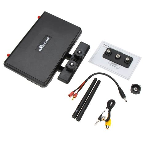 10 inch battery boscam galaxy d2 fpv 5 8g 32ch 7 inch monitor with battery