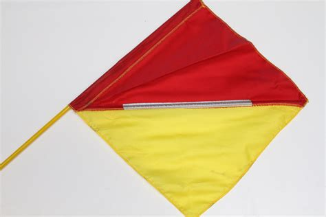 power boat flags replacement top half with flag for crew overboard poles