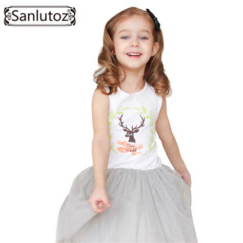 aliexpress girl clothes aliexpress com buy sanlutoz girls clothes summer girl