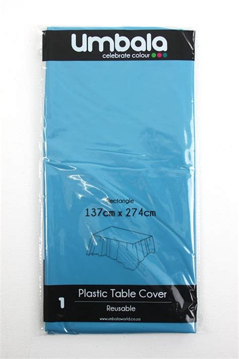 turquoise plastic table covers turquoise plastic table cover partyspot