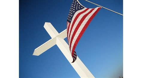 American Cross society for us intellectual history flag cross
