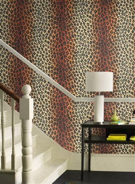 animal print wallpaper for bedroom wow wallpaper hanging leopard print wallpaper chic