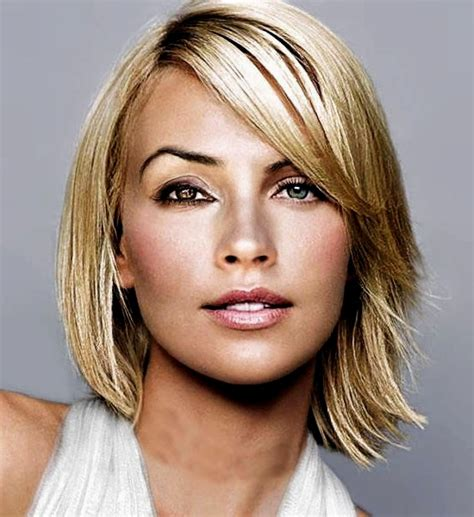 medium length hairstyles for fine hair and oval face