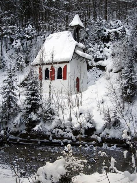 Winter Cottage by Winter Cottage Snow Let S Paint Some Stuff
