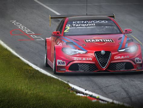 alfa romeo martini racing alfa romeo giulia wtcc martini racing by renxo93 on deviantart