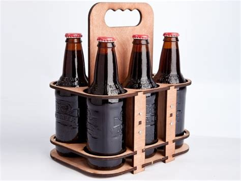 6 packer laser cut beer carrier brew review