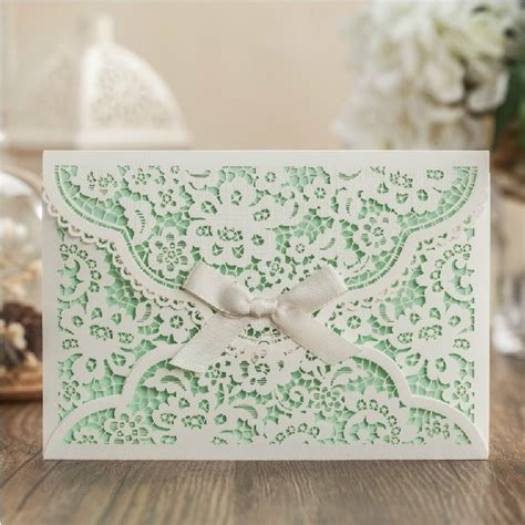 Einladung Hochzeit Mint by Get Cheap Mint Wedding Invitations Aliexpress