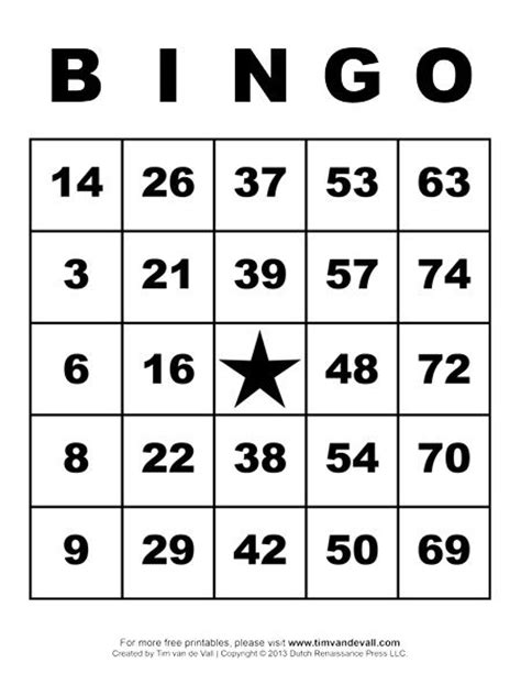 bingo credit card template printable bingo cards crafts for