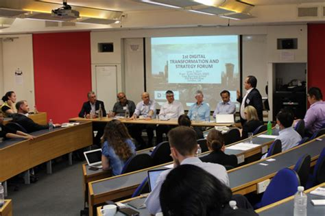 Cass Business School Mba Review by Experts Convene For Inaugural Digital Transformation And