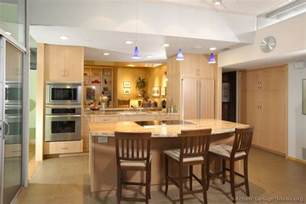 Natural Wood Kitchen Cabinets A Luxury Kitchen With Lots Of Natural Light An Open Plan