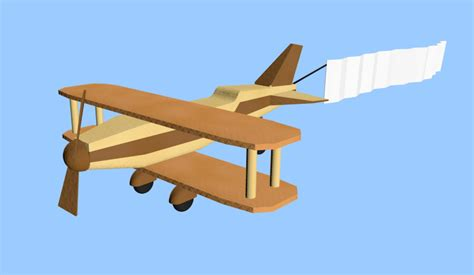 3d Origami Models - 3d origami plane model turbosquid 1201717